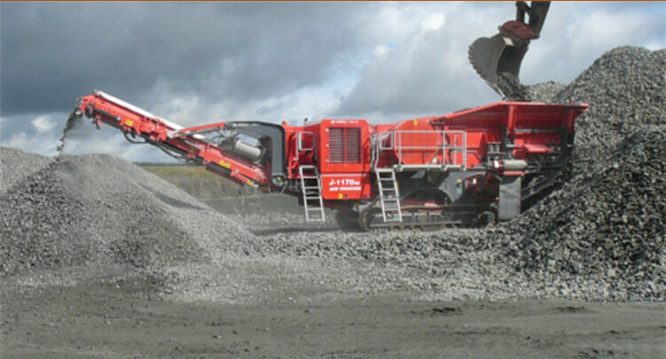 finlay jaw crusher hire london