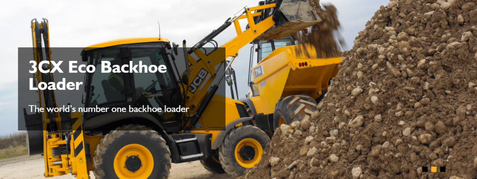 3cx eco backhoe loader