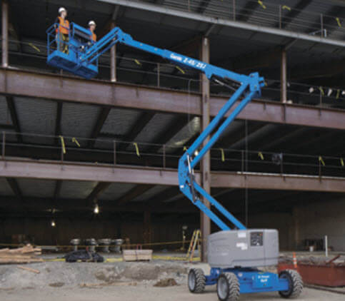 cherry picker in operation hire