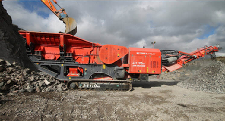 finlay crusher hire london