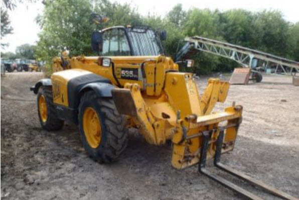 Telehandler hire london
