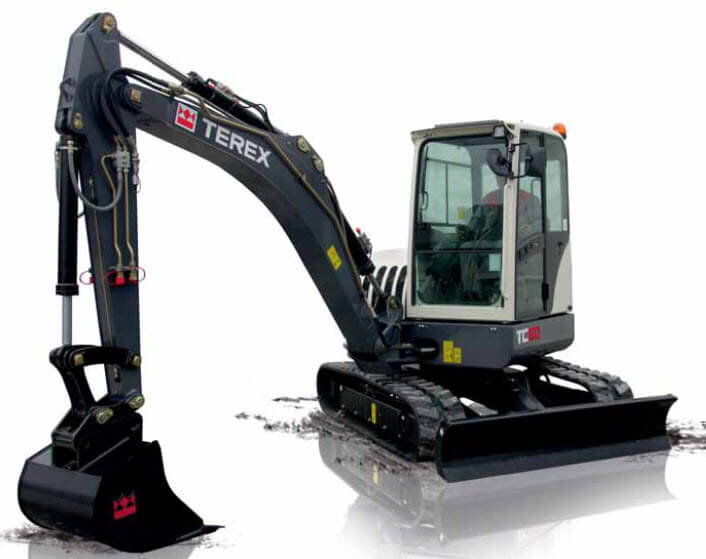 midi digger hire london